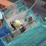 Stiftskirche: Abbau der Turmbekronung