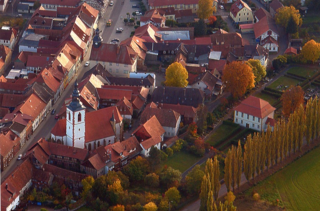 Luftbild Stiftskirche ( Foto: Axel Möhring)